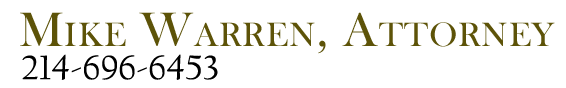 Mike Warren Attorney At Law logo